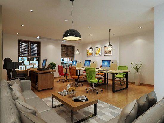thiết kế văn phòng công ty 1