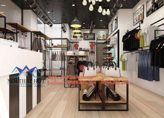 Thiết kế shop thời trang nam nữ