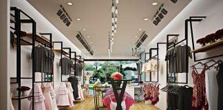 Thiết kế shop thời trang Kenva đẹp