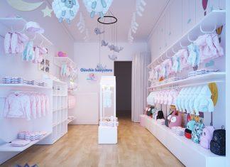 Thiết kế shop thời trang trẻ em - Tp Hà Nam