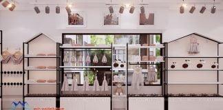 Thiết kế cửa hàng tạp hóa nhập khẩu