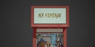 Thiết kế shop thời trang nữ Hà Vintage