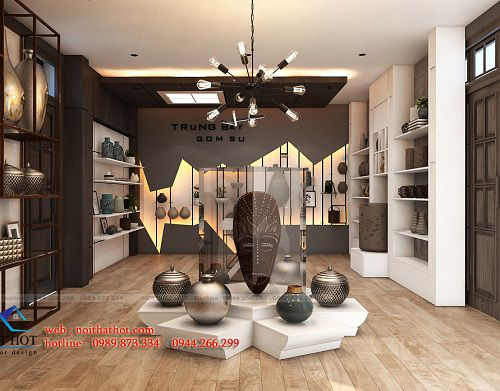 Thiết kế showroom gốm sứ