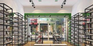 Thiết kế shop giày dép trẻ em