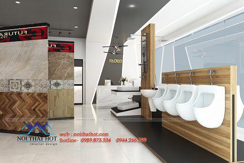 Thiết kế cửa hàng vật liệu xây dựng