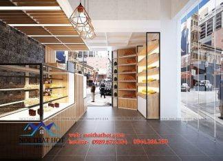Thiết kế cửa hàng bánh ngọt