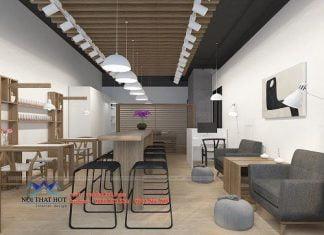 Thiết kế cửa hàng nail và spa