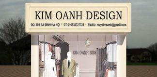 Thiết kế shop thời trang may đo