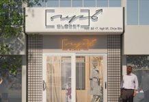 Thiết kế shop thời trang diện tích nhỏ