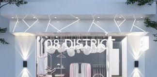Thiết kế shop đồ lót và đồ ngủ nội y