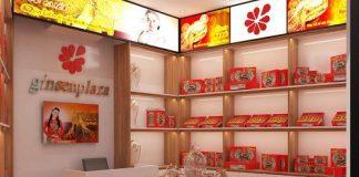 Thiết kế cửa hàng sâm