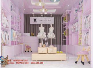 Thiết kế thi công cửa hàng trẻ em