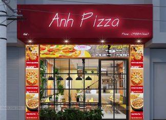 Thiết kế quán pizza