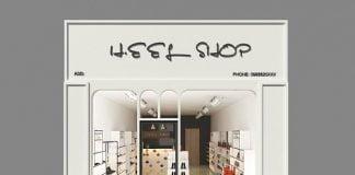 Thiết kế shop giãy dép