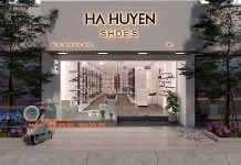 Thiết kế thi công shop giày dép