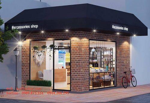 Thiết kế cửa hàng tiện ích