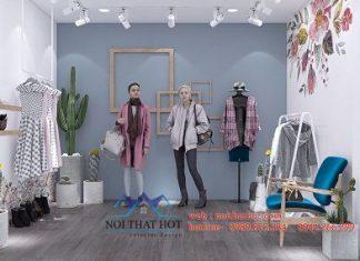 Thiết kế phòng livestream quần áo thời trang