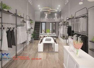 Thiết kế shop thơi trang 30m2