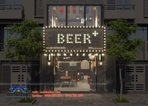 Thiết kế quán bia đẹp