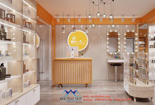 Thiết kế shop mỹ phẩm online