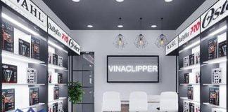Thiết kế shop phụ kiện ngành tóc