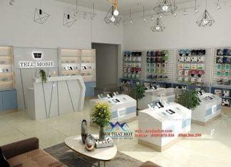Thiết kế shop điện thoại