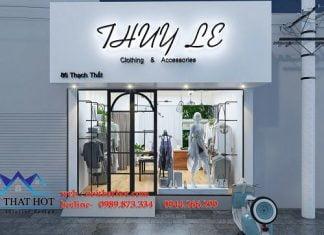 Thiết kế shop quần áo thạch thất