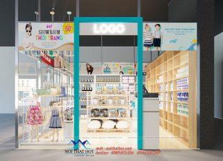 Thiết kế shop đồ nhập khẩu