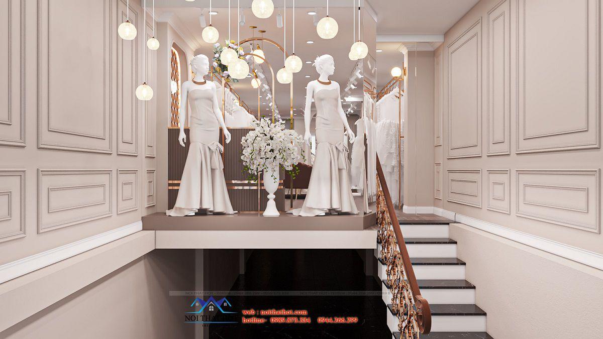 thiết kế studio áo cưới