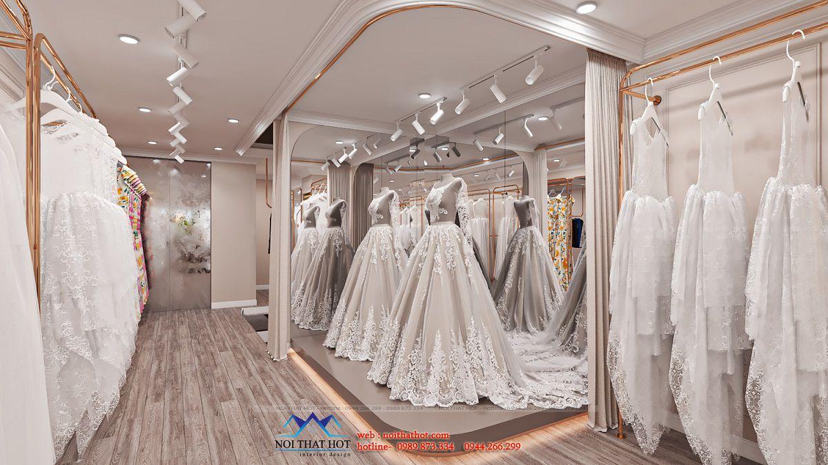 phòng thử váy cưới