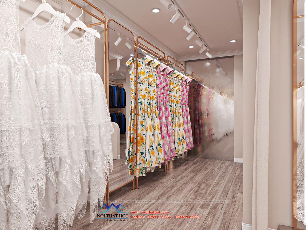 giá treo váy cưới