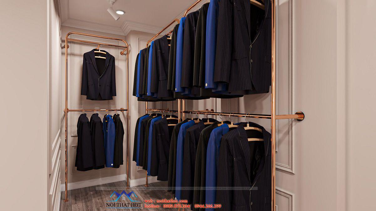 giá treo áo vest